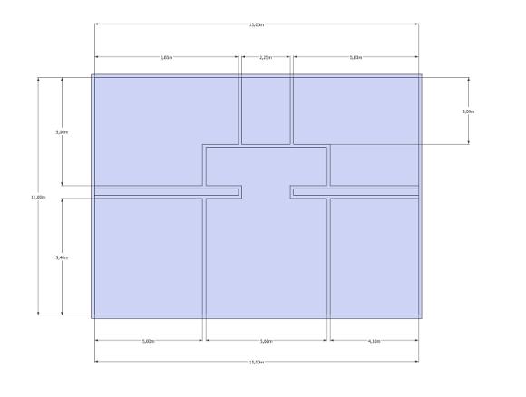 plan appartement tuto SketchUp
