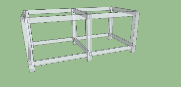 meuble sketchup transparence