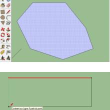 Verklebung von Geometrien