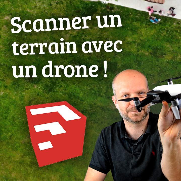 DRONE und SketchUp